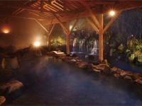ゆったりと入れる温泉