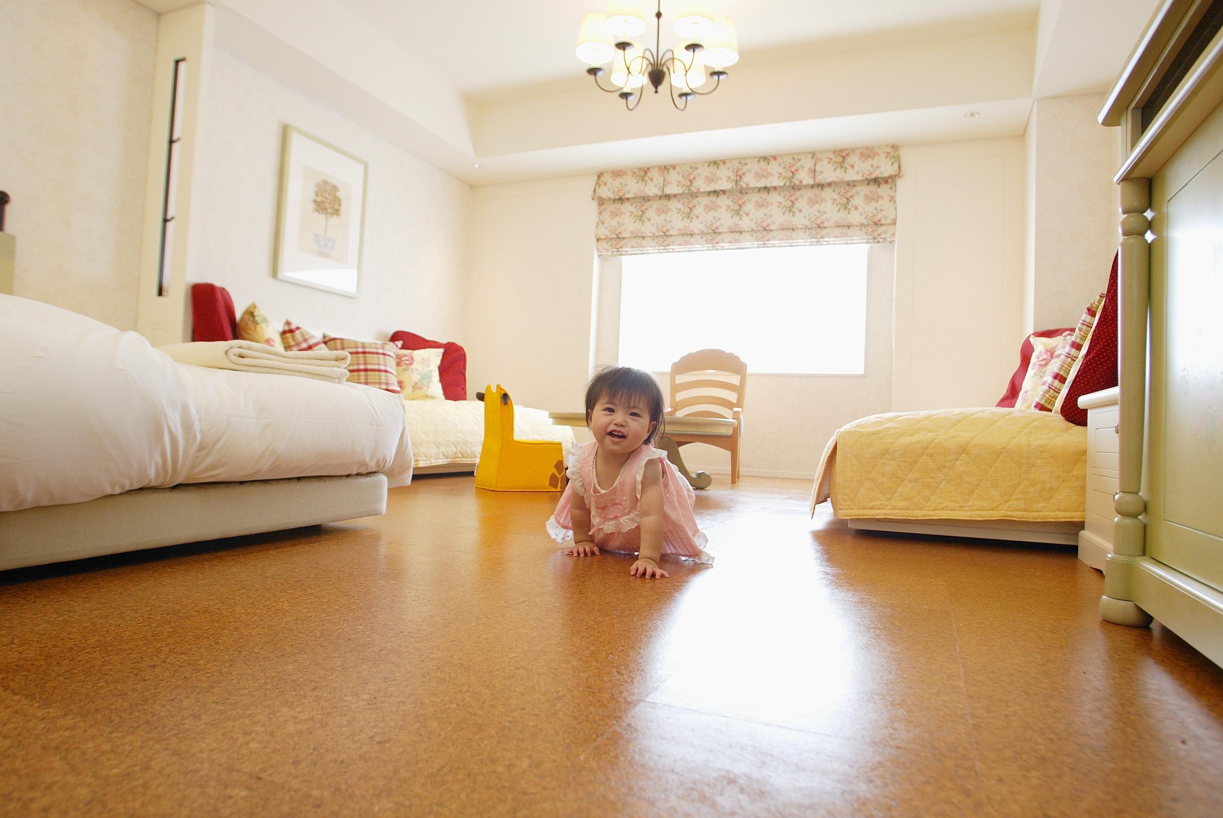 オリエンタルホテル 東京ベイ 【ファミリー】【Baby's Sweet】&【Kiddy Sweet】はキッズデザイン賞をダブル受賞したおしゃれなお部屋。子供もママもゆっくり過ごすことができる。