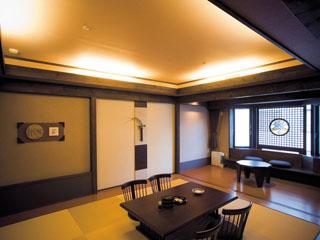 あかん遊久の里鶴雅 アイヌの文化を取り込んだデザイナーズルーム、レラの館