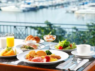 グランドパーク小樽 朝食は北海道をテーマとしたインターナショナルブッフェ