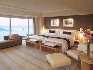 ザ・ウィンザーホテル洞爺リゾート&スパ 全ての客室から湖か海の絶景が楽しめます