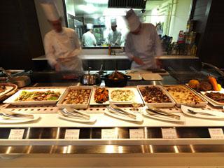 しこつ湖鶴雅リゾートスパ 水の謌 「ヘルシーなおいしさ」をテーマにした新しいコンセプトのビュッフェレストラン