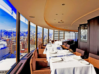 センチュリーロイヤルホテル 札幌唯一の360度回転スカイレストラン・ロンド
