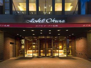 ホテルオークラ札幌 「正面玄関」ここが、札幌の旅の近道です