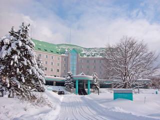 ホテルパークヒルズ 外観(冬)