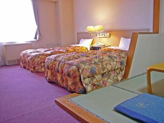 ホテルパークヒルズ 和洋室の一例