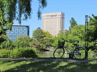 ホテルライフォート札幌 中島公園と豊平川の間に位置する17階建のホテル
