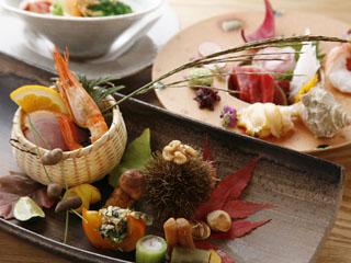 支笏湖第一寶亭留翠山亭 旬の食材をとり込んだ料理