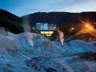 第一滝本館 地獄谷のすぐ側に位置するのが当館です