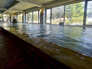 キキ知床 NATURAL RESORT 源泉掛け流しの露天風呂と岩盤浴とサウナでさっぱり