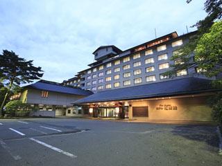 花巻温泉 ホテル紅葉館 和洋中バイキングのライブが充実。露天岩風呂が自慢の宿