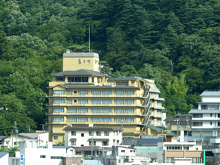 大江戸温泉物語 鳴子温泉 ますや 四季の宿ますや外観風影