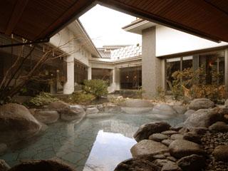 ホテルニュー水戸屋 薬師の湯「梅の粧」岩風呂