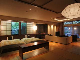時音の宿 湯主一條 最上級のおもてなし、露天風呂付客室「一條スイート」(100平米)