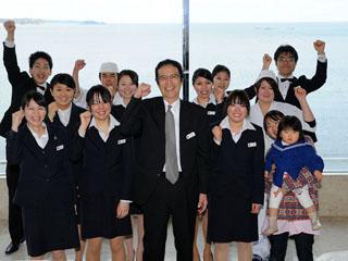 南三陸ホテル観洋 復興を支えるスタッフが笑顔でお待ちしております♪
