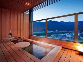 鳴子ホテル 紅葉館/足湯付き客室