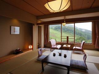 蔵王国際ホテル 新緑や紅葉、冬には雪景色が広がる人気の南館のお部屋