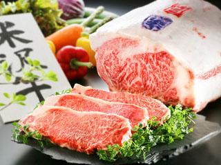 日本の宿古窯 ブランド牛の米沢牛一頭買い