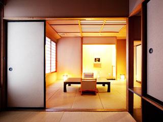 絶景露天風呂と貸切風呂が自慢の宿 東山温泉 庄助の宿 瀧の湯 和室
