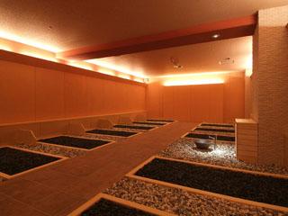 鬼怒川温泉 あさや 本格的な岩盤浴も楽しめます