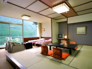 大江戸温泉物語 那須塩原温泉 ホテルニュー塩原 和洋室の一例