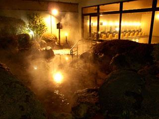 ロイヤルホテル 那須(旧:りんどう湖ロイヤルホテル) 含硫黄-Ca・Mg-硫酸塩温泉「那須温泉」露天温泉岩風呂