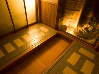 お宿玉樹 リラクゼーションルームには岩盤浴・貸切風呂・エステルームを完備