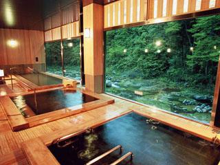かやぶきの郷薬師温泉旅籠 薬師の湯(大浴場)