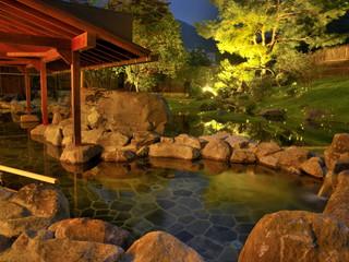 源泉湯の宿松乃井 源泉を4本所有、加水なしの天然温泉。自然を愛でながら豊かな湯の恵みに浸る贅沢を