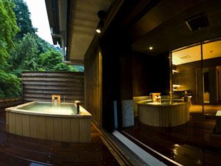 四万やまぐち館 露天風呂付客室