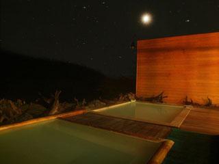 万座ホテル聚楽 (天気がよければ)満天の星空をご覧いただけます