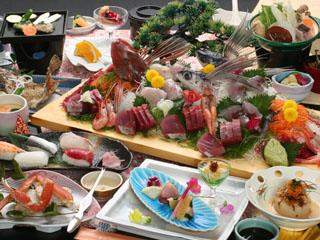 グランドホテル太陽 南房総の海で獲れた新鮮な魚貝類を使用した海鮮料理
