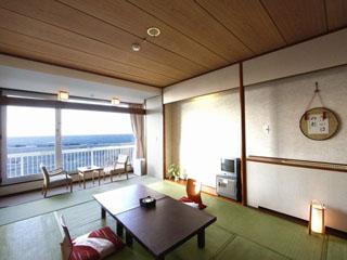 グランドホテル太陽 絶景のオーシャンビューが望める和室