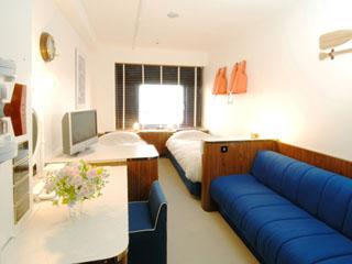 サンルートプラザ東京 豪華客船がイメージの客室「クルージングキャビン」で客船に乗っている気分に♪