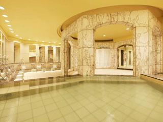 シェラトン・グランデ・トーキョーベイ・ホテル 大理石の大きなお風呂にサウナもある、リラックス度満点くつろぎの王国「舞湯」