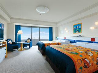 シェラトン・グランデ・トーキョーベイ・ホテル ご家族で快適に過ごせるよう細部まで配慮したかわいいデザインのトレジャーズルーム