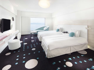 ヒルトン東京ベイ 明るくスタイリッシュなデザインの客室「セレブリオ」