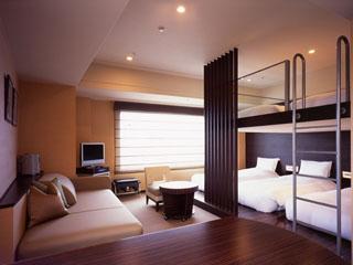 浦安ブライトンホテル東京ベイ ファミリーやグループに最適。ロフト空間が評判の「アパートメント・ザ・ロフト」