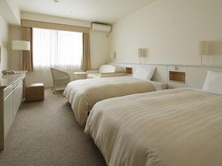 三井ガーデンホテルプラナ東京ベイ ホワイトを基調としたスタンダード