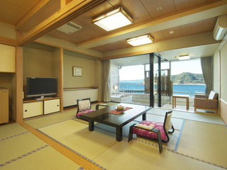満ちてくる心の宿吉夢 部屋から季節と時間で変わる様々な景観が楽しめます