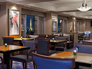 ウェスティンホテル東京 エクゼティブフロア滞在のお客様専用のラウンジ