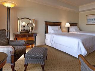 ウェスティンホテル東京 全室16階以上の高層階に位置し、東京の街並みをお楽しみいただけます