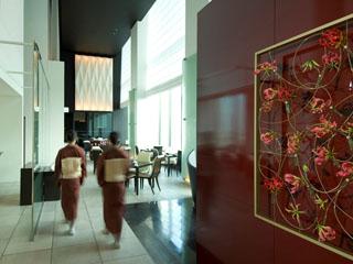 コンラッド東京 会席料理に加え、鮨と鉄板焼のカウンターも内設する日本料理「風花」