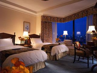 ホテル椿山荘東京 45平方メートルのゆったりとしたスーペリアルーム