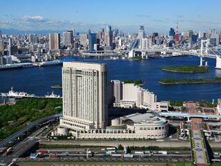 グランドニッコー東京 台場 東京都心から15分の台場に立地し、レインボーブリッジや東京タワー、東京スカイツリーが見渡せる、リゾート感覚に溢れるホテル。