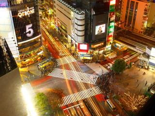 渋谷エクセルホテル東急 高層階の客室から見える「渋谷スクランブル交差点」