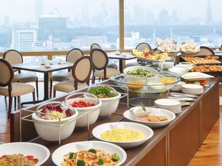 渋谷エクセルホテル東急 朝食は洋食ビュッフェか和食。地上100mで爽やかに
