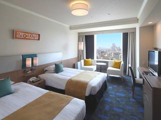 渋谷エクセルホテル東急 客室はフロアごとに4つのカテゴリーに。お好みで選んで。
