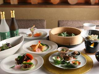 あうら橘 和室ご利用のお客様用のお料理一例