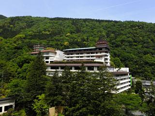 ホテルおかだ 新宿から85分。須雲川と湯坂山に囲まれた閑静な温泉地。
